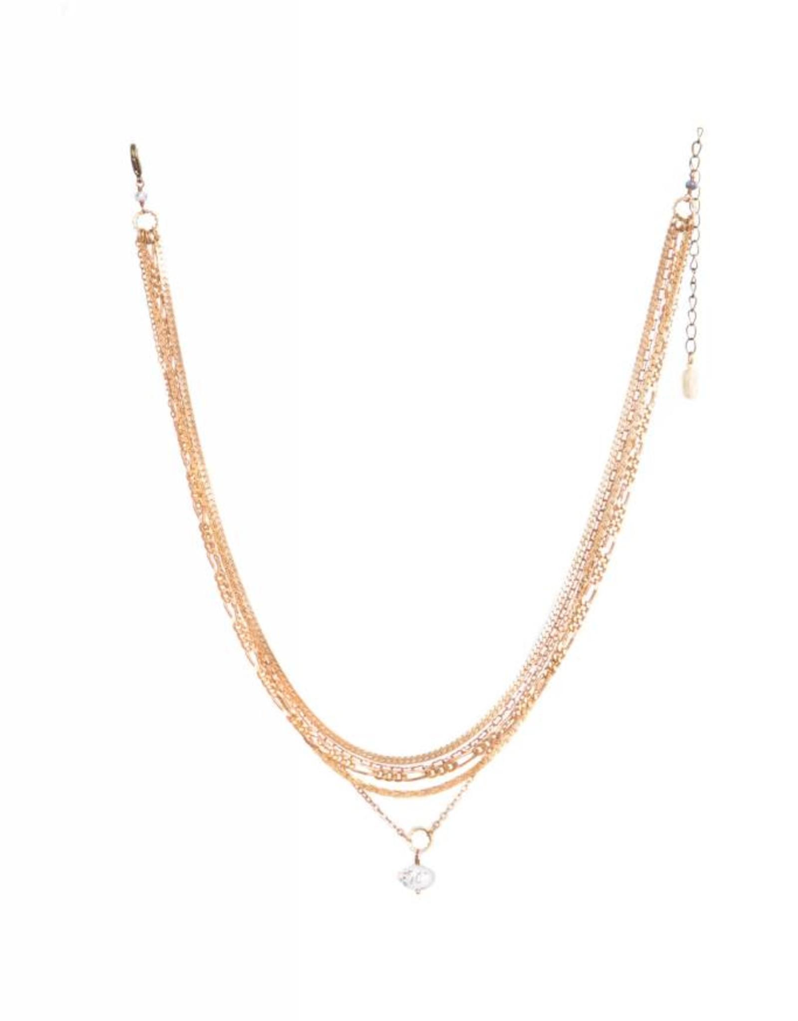 Hailey Gerrits Designs Gaia Necklace - Dendrite Opal
