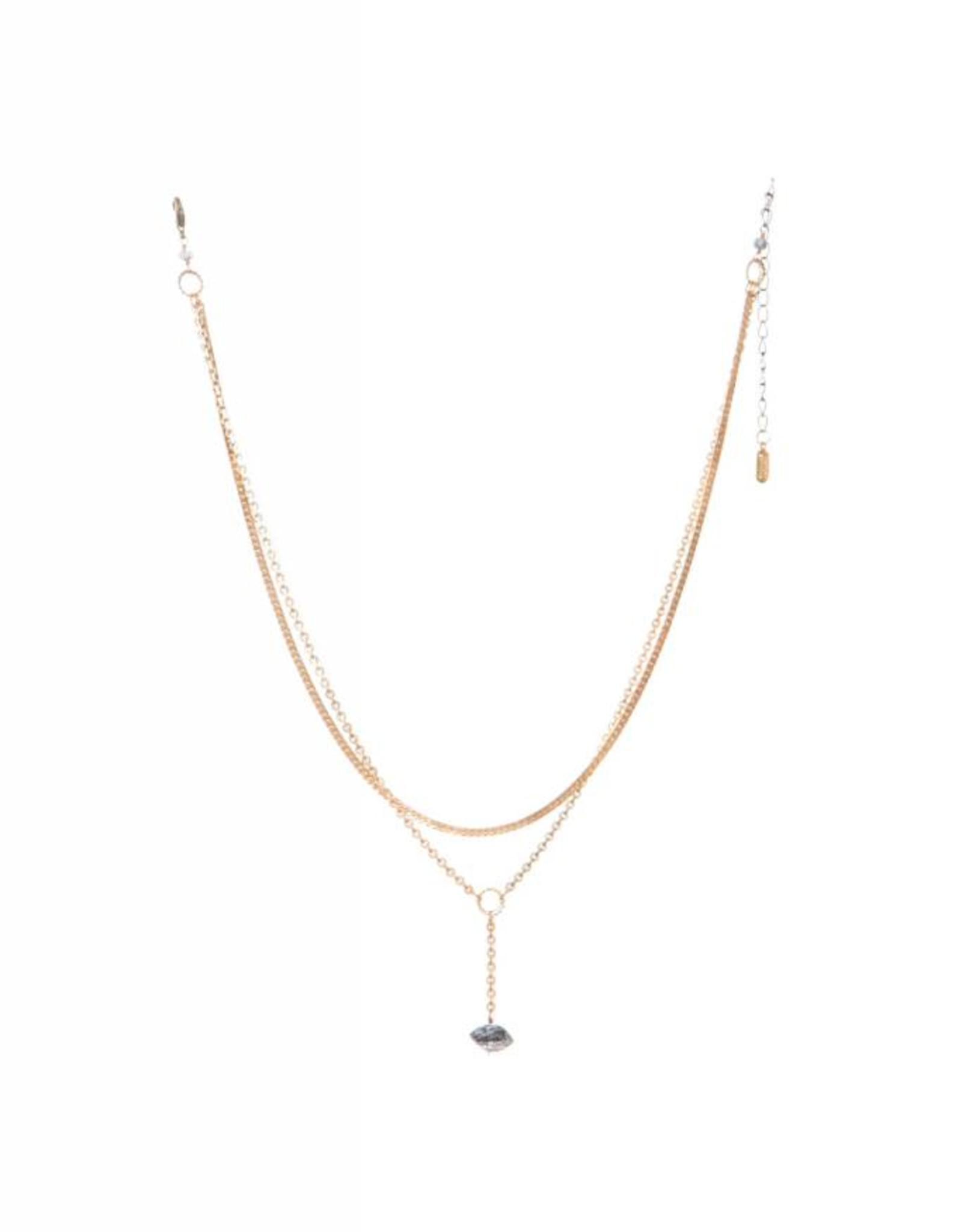 Hailey Gerrits Designs Meri Necklace - Dendrite Opal