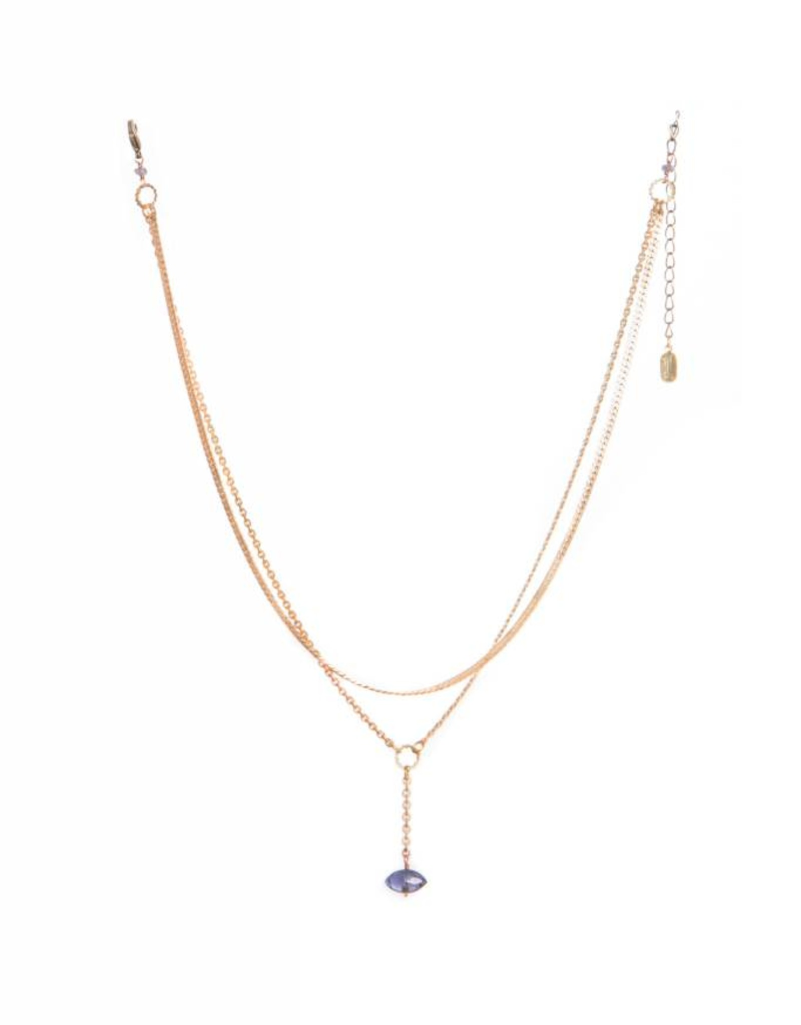 Hailey Gerrits Designs Meri Necklace - Iolite