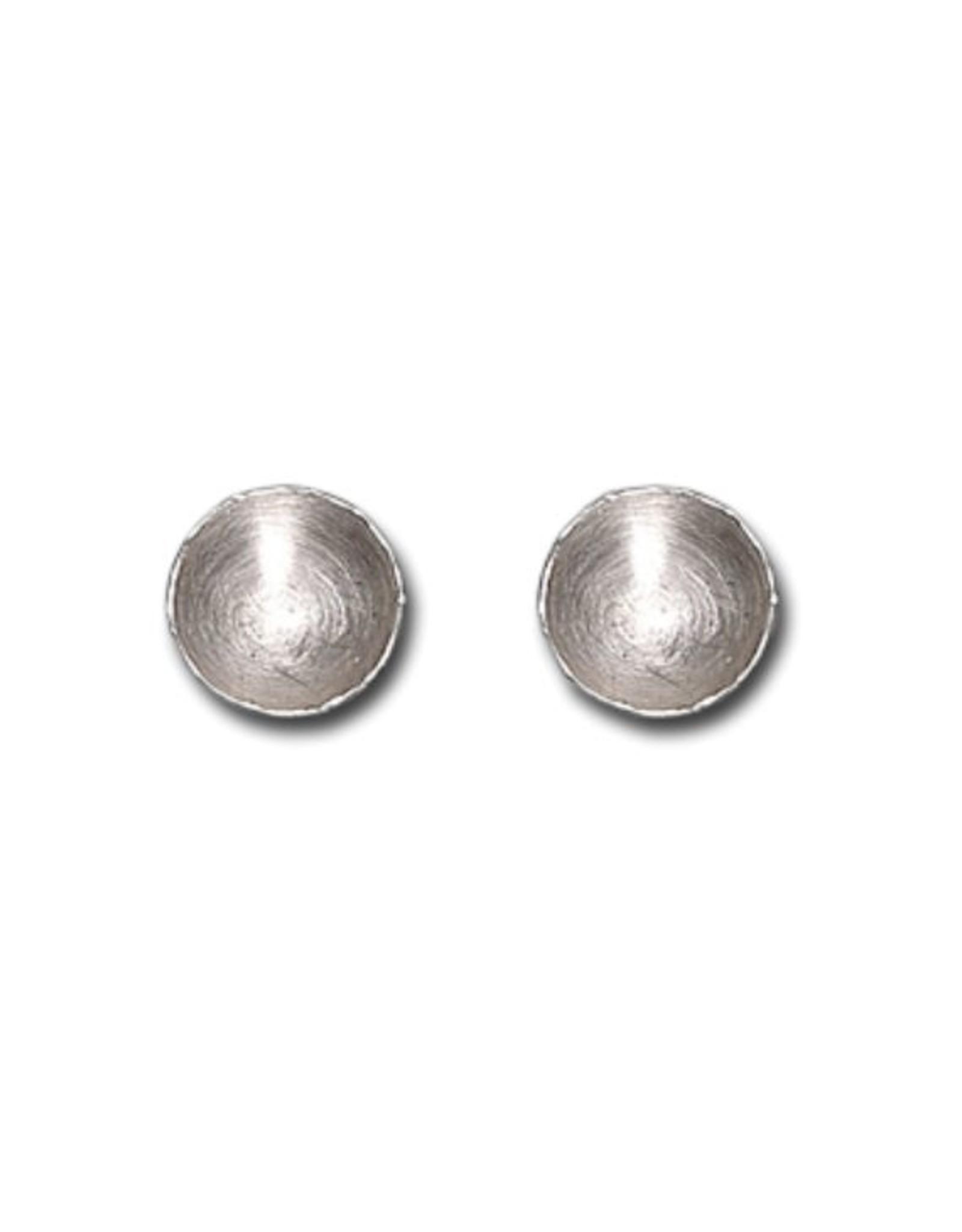 Himatsingka Fragment Silver Earrings - Medium