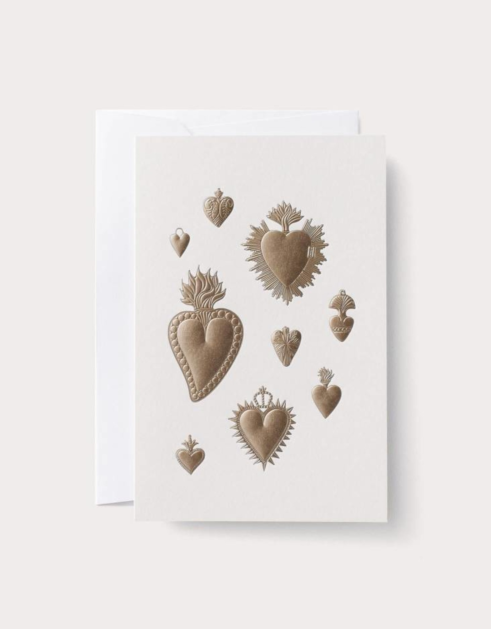 Noat Heart Milagros Card