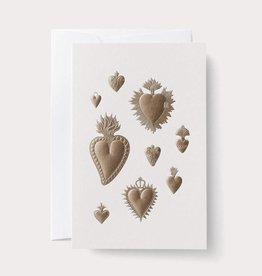 Noat Heart Milagros Card