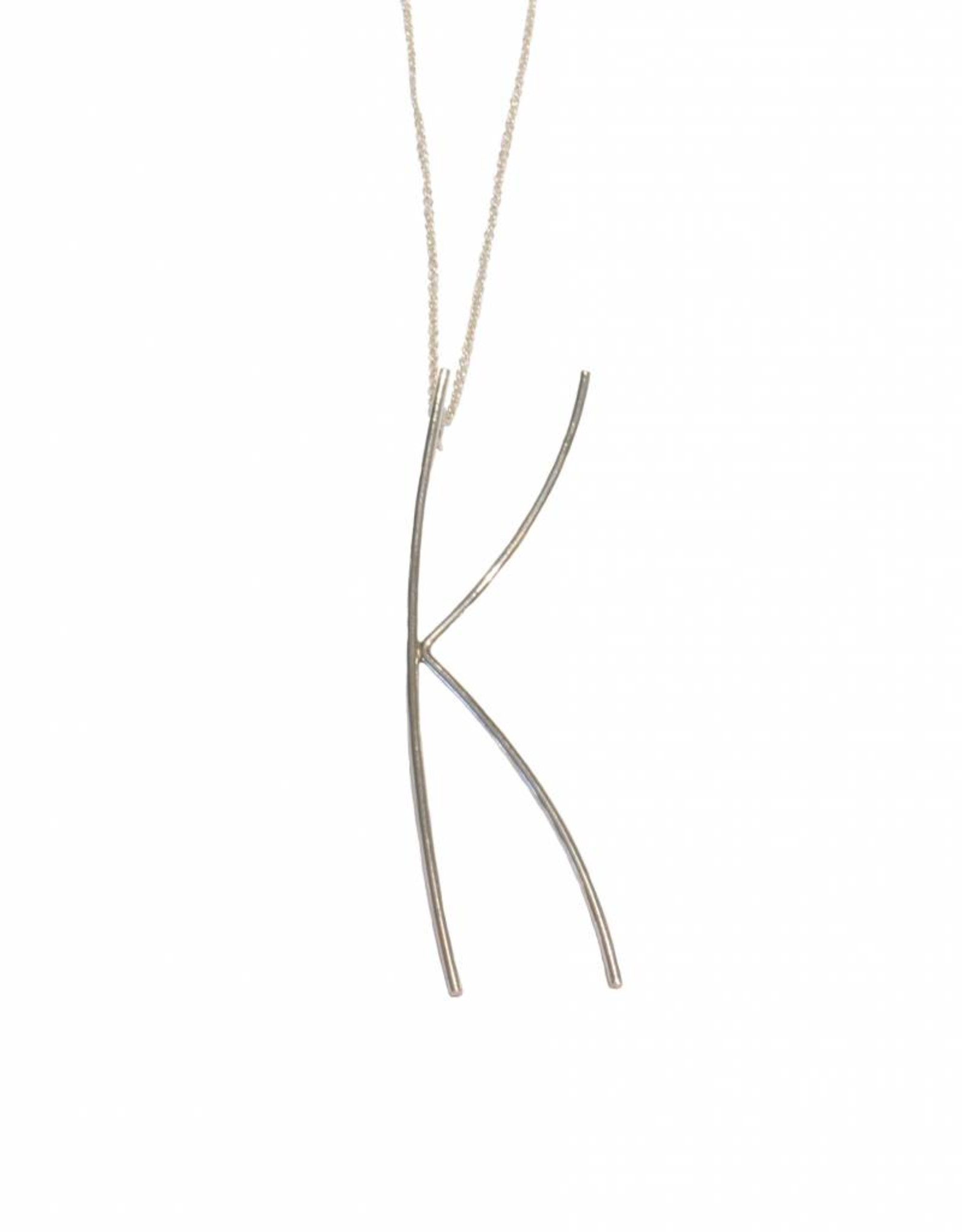 Gauge NYC Luna Letter Necklace - K