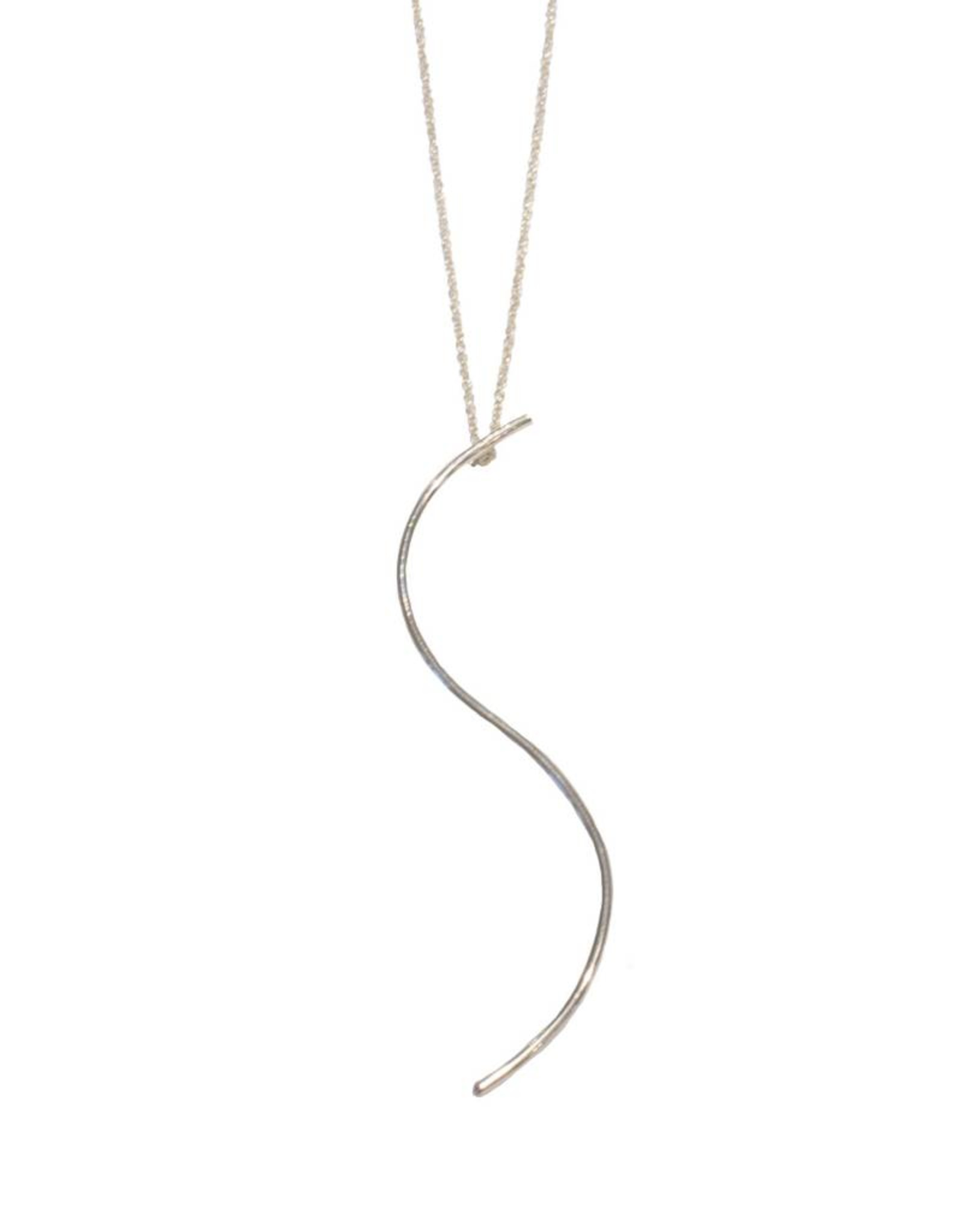 Gauge NYC Luna Letter Necklace - S