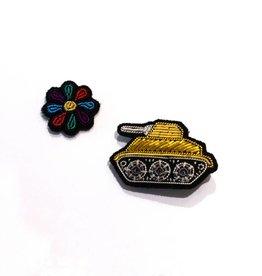 Macon & Lesquoy Tank + Flower Pin Set