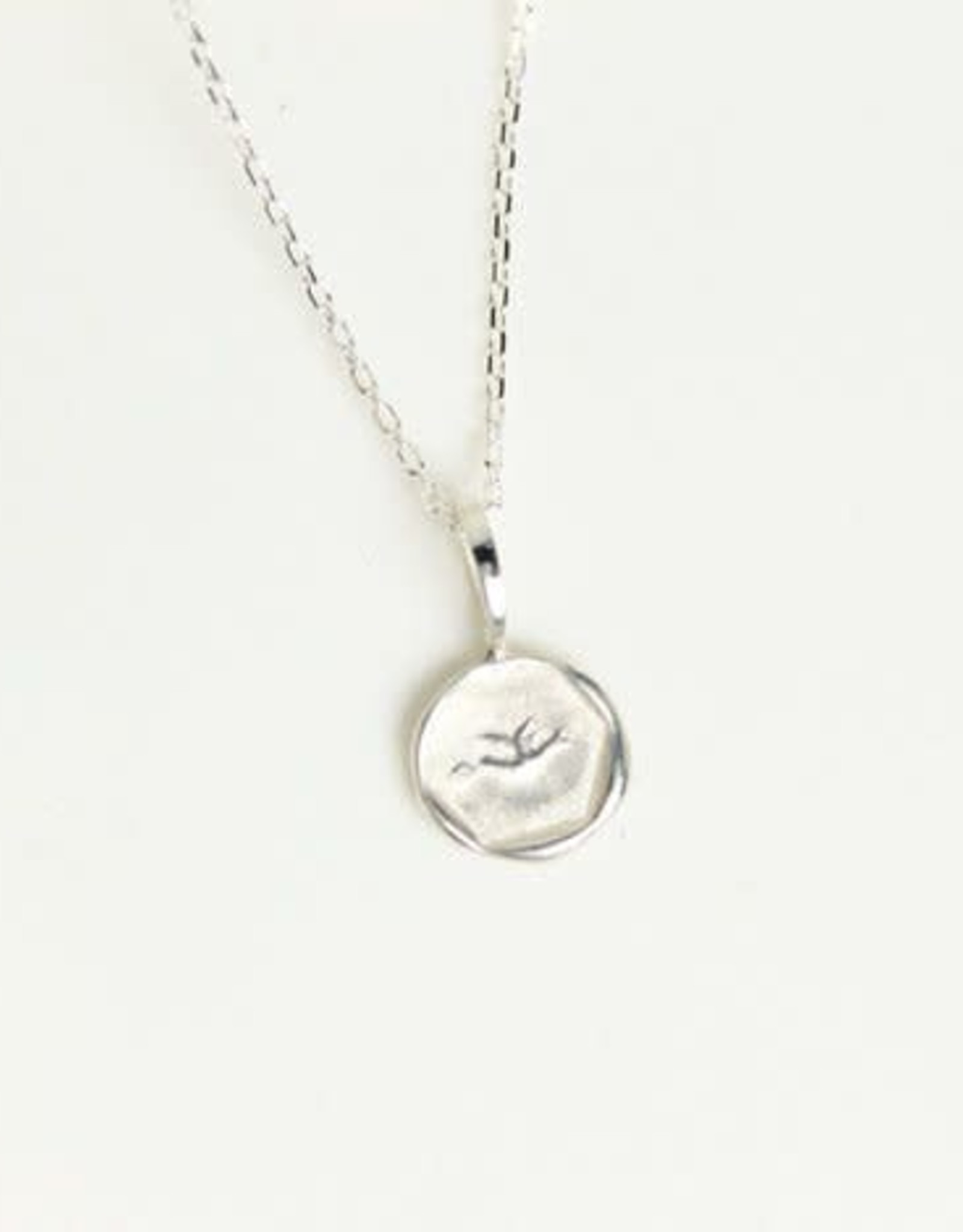 Robin Haley Jewelry Love Letter Artifact Necklace