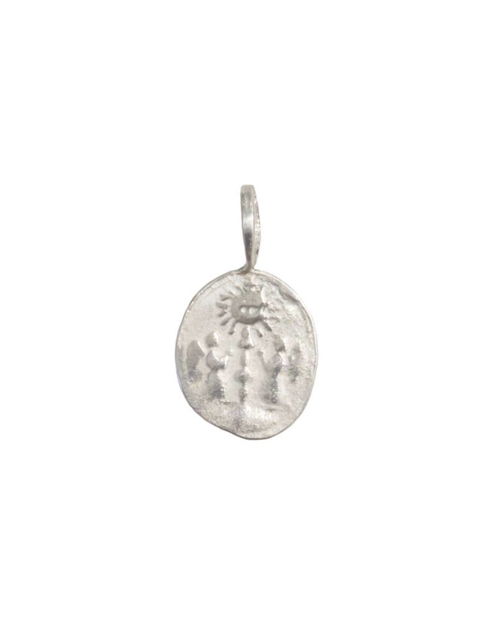 Robin Haley Jewelry Two Angels Artifact Necklace - Double-Sided