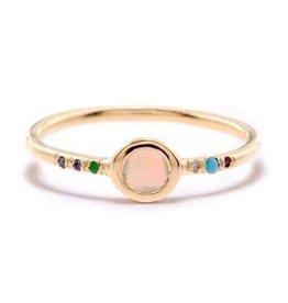 Scosha Daydream Ring - Opal + Mixed Stones