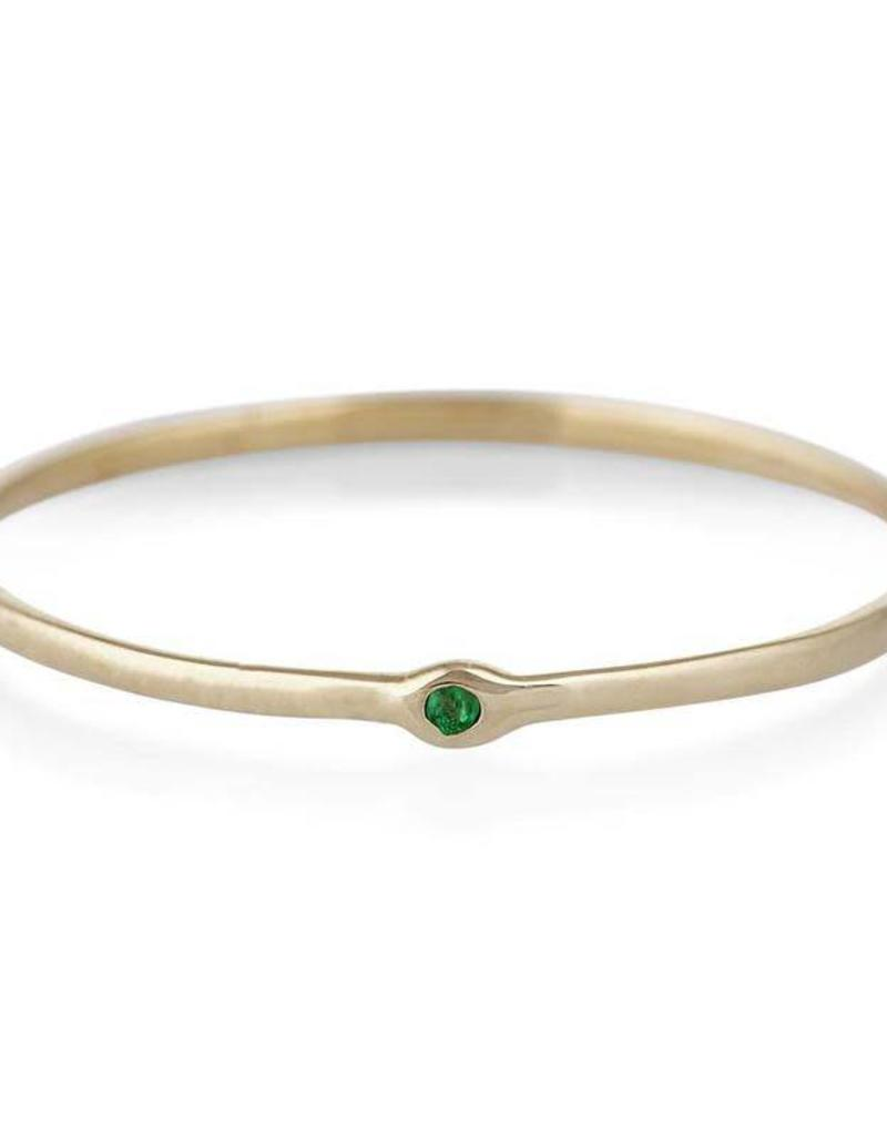 Scosha Memory Ring - Emerald