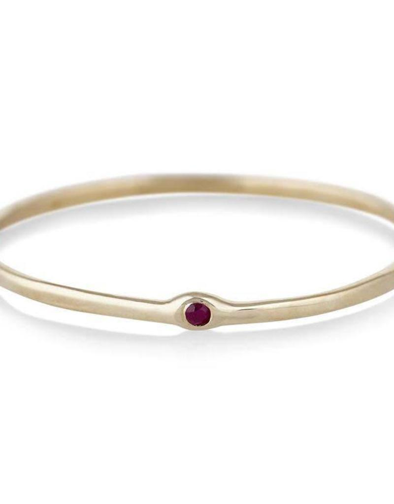 Scosha Memory Ring - Ruby