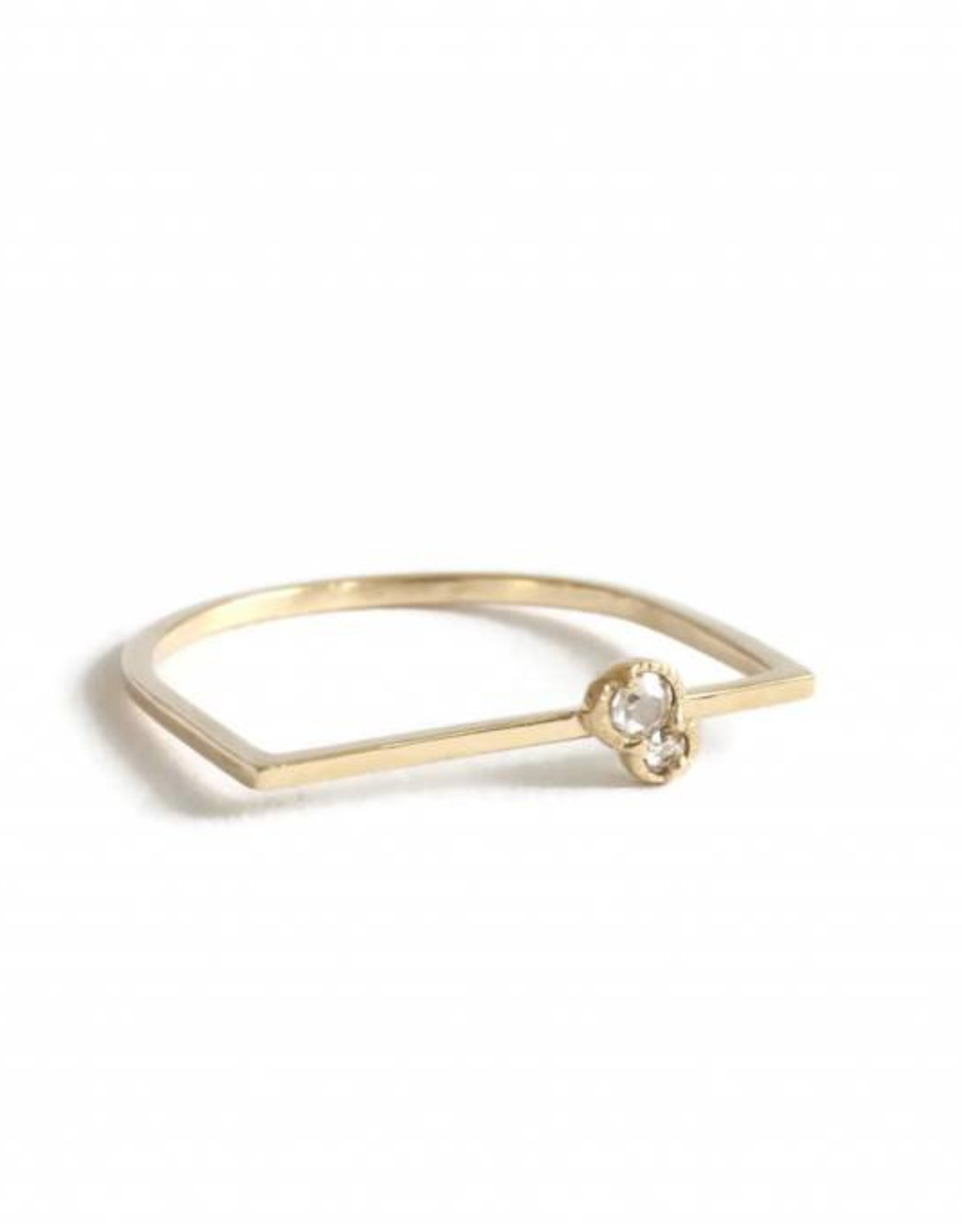 Lio & Linn Twin Diamond Ring