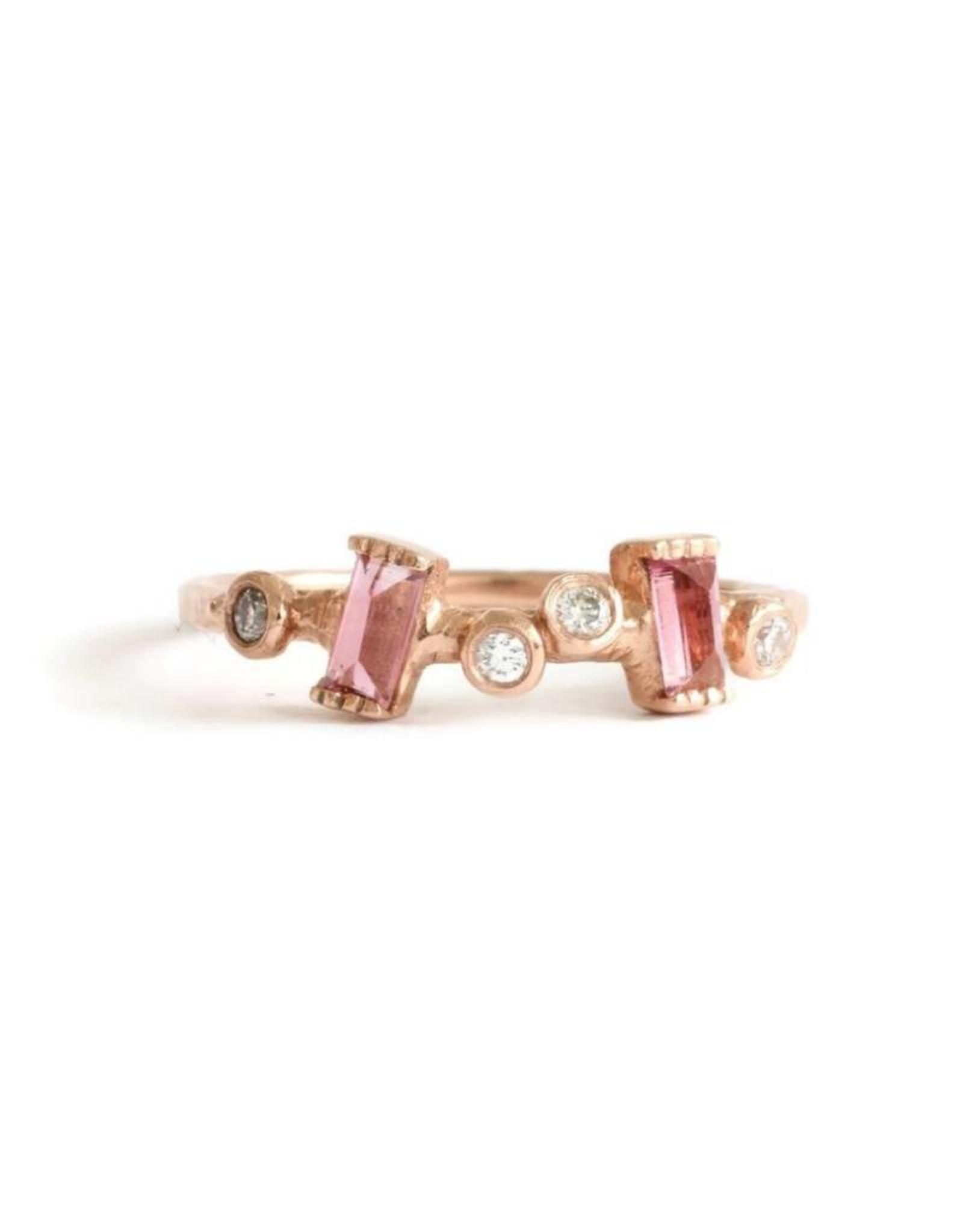 Lio & Linn Garden Ring - Pink Tourmaline