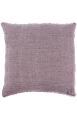 Lina Linen Pillow - Heather