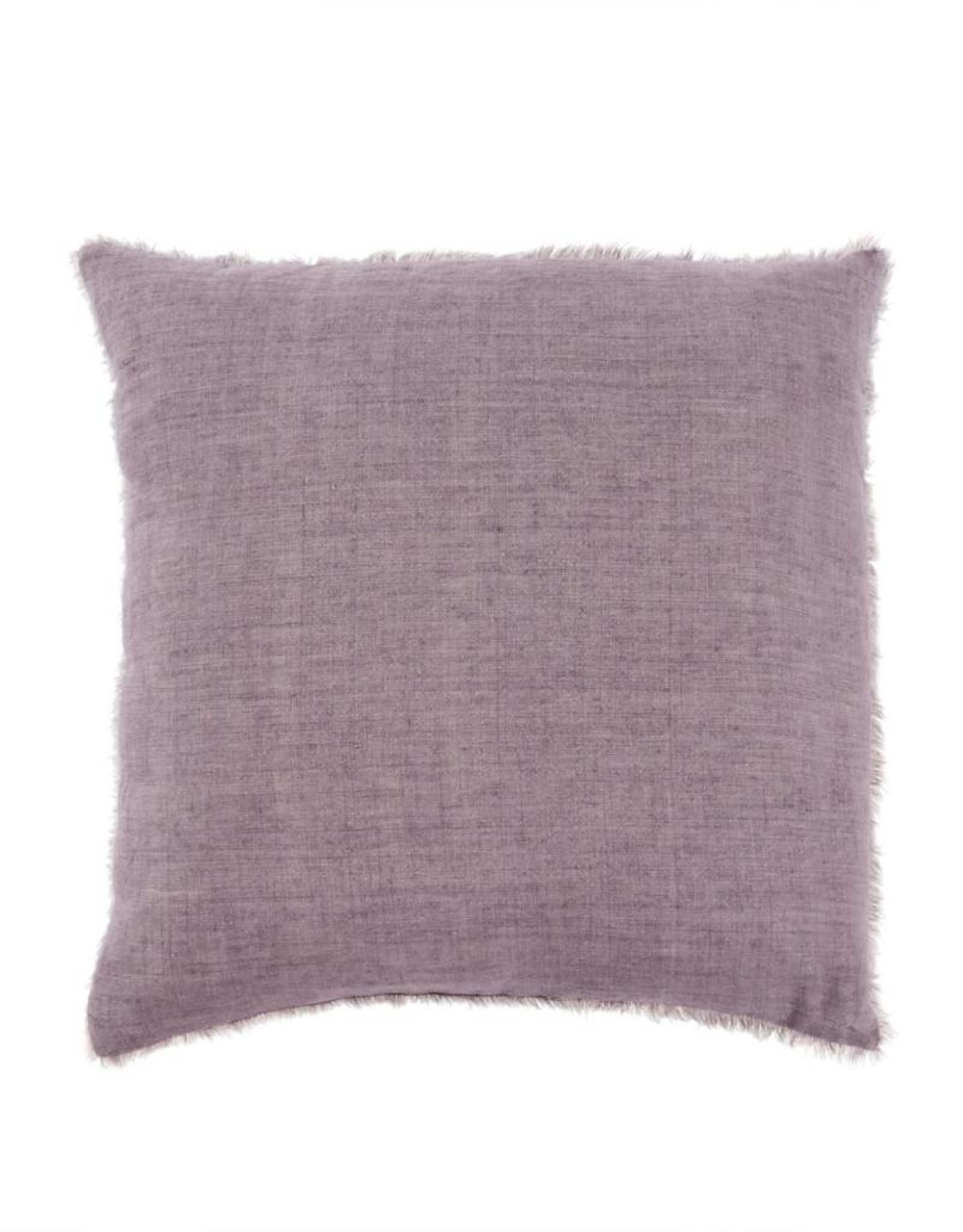 Indaba Lina Linen Pillow - Heather