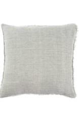 Indaba Lina Linen Pillow - Flint Gray