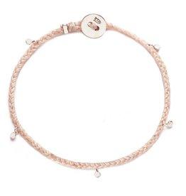 Scosha Fairy Bead Signature Silver Bracelet - Ballet