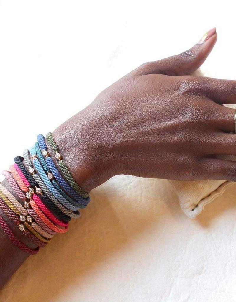 Scosha Classic Diamond Bracelet - Fuschia