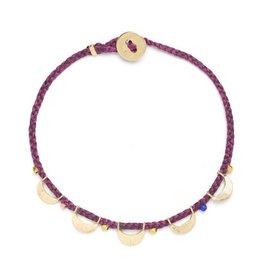 Scosha Luna Caravan Bracelet - Plum