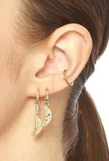 Scosha Classic Gold Ear Cuff