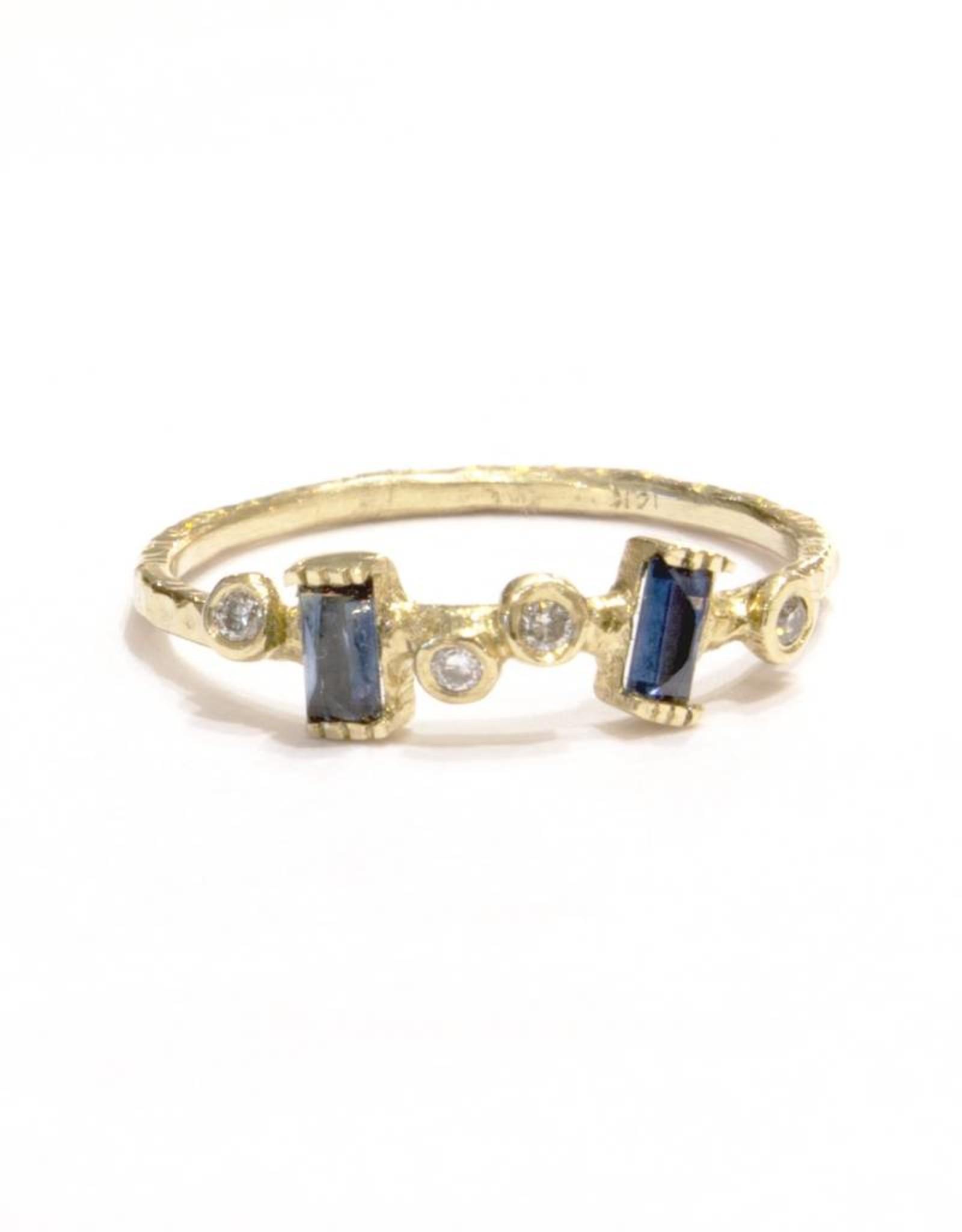 Lio & Linn Garden Ring - Blue Sapphire