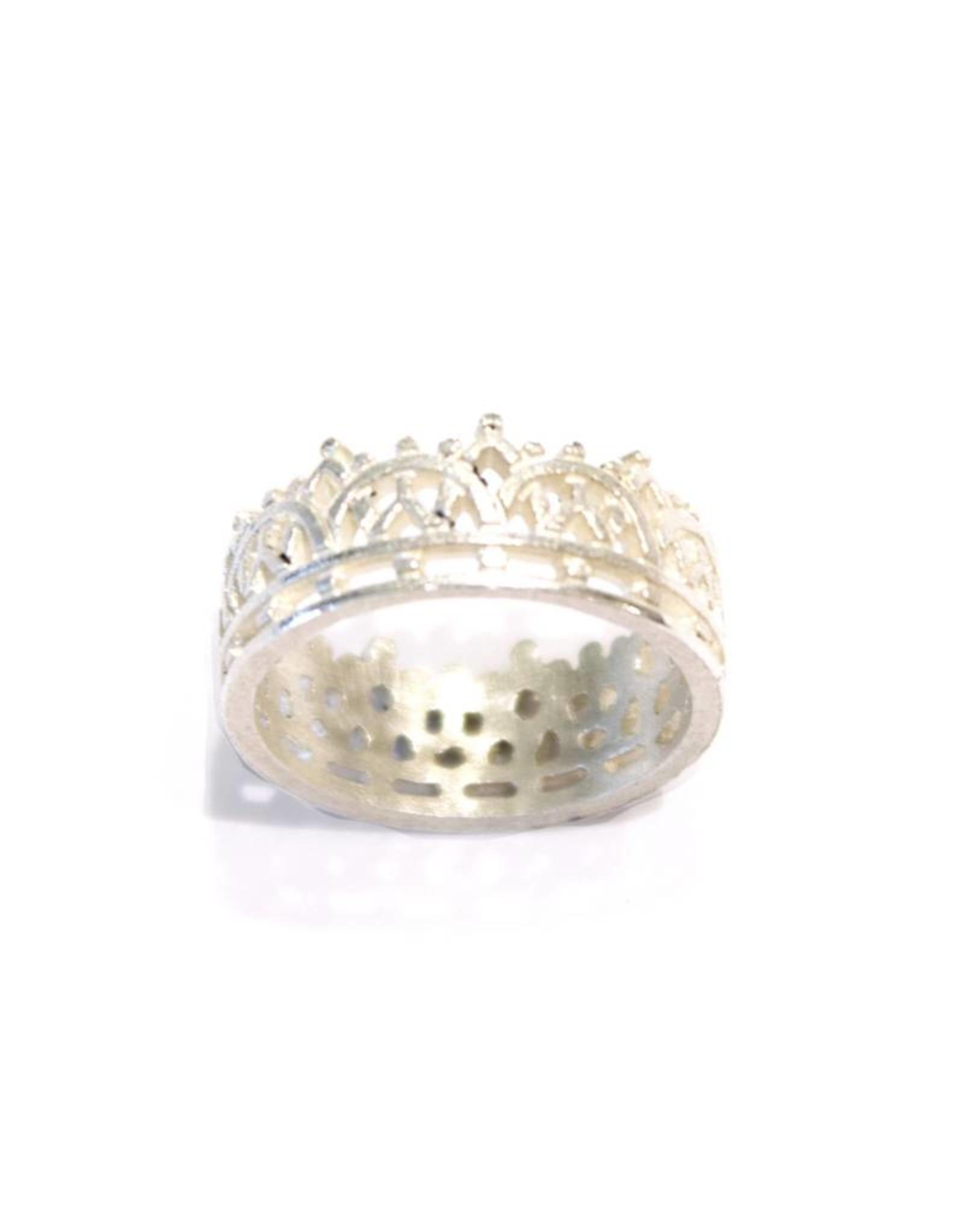 Himatsingka Madeline Mosaic Crown Ring