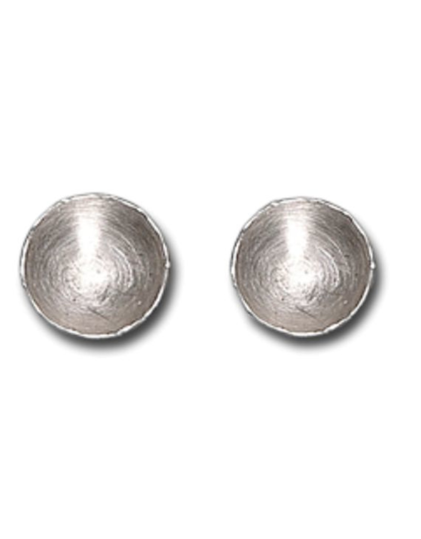Himatsingka Fragment Silver Earrings - Large