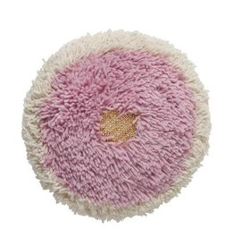 Langdon Ltd. Poppy Shag Pillow - Pink