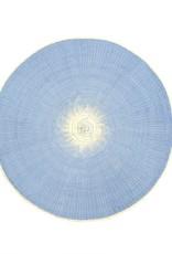 Indaba Willa Placemat - Light Blue
