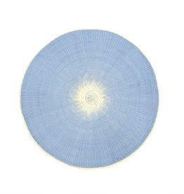 Indaba Willa Placemat - Light Blue