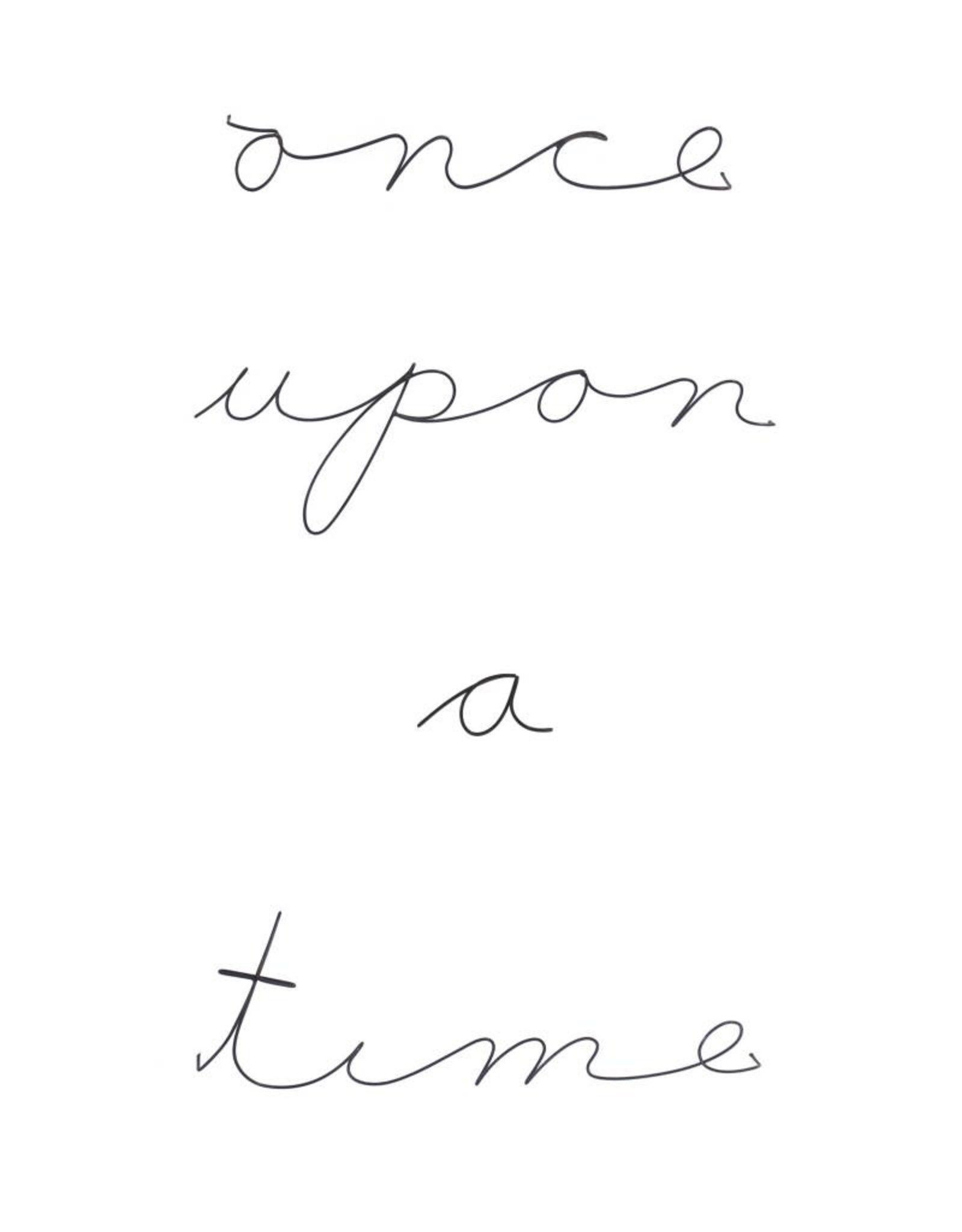 Gauge NYC 'once upon a time' Wire Word Poetic