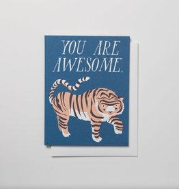 Banquet Atelier & Workshop Awesome Tiger - Note Card