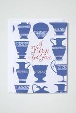 Banquet Atelier & Workshop I Y'Urn for You - Note Card