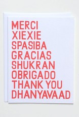 Banquet Atelier & Workshop Universal Thank You - Note Card