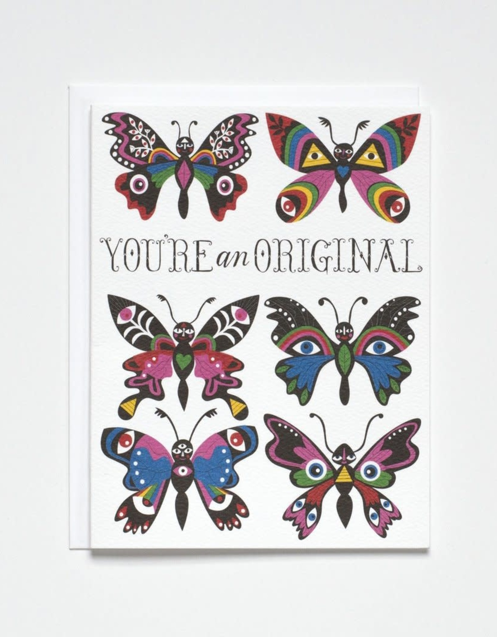 Banquet Atelier & Workshop You're an Original Butterflies - Note Card