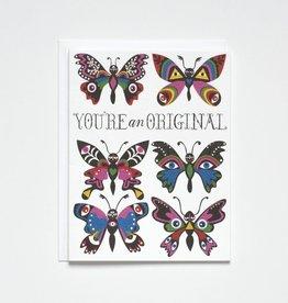 Banquet Atelier & Workshop You're an Original Butterflies - Note Card