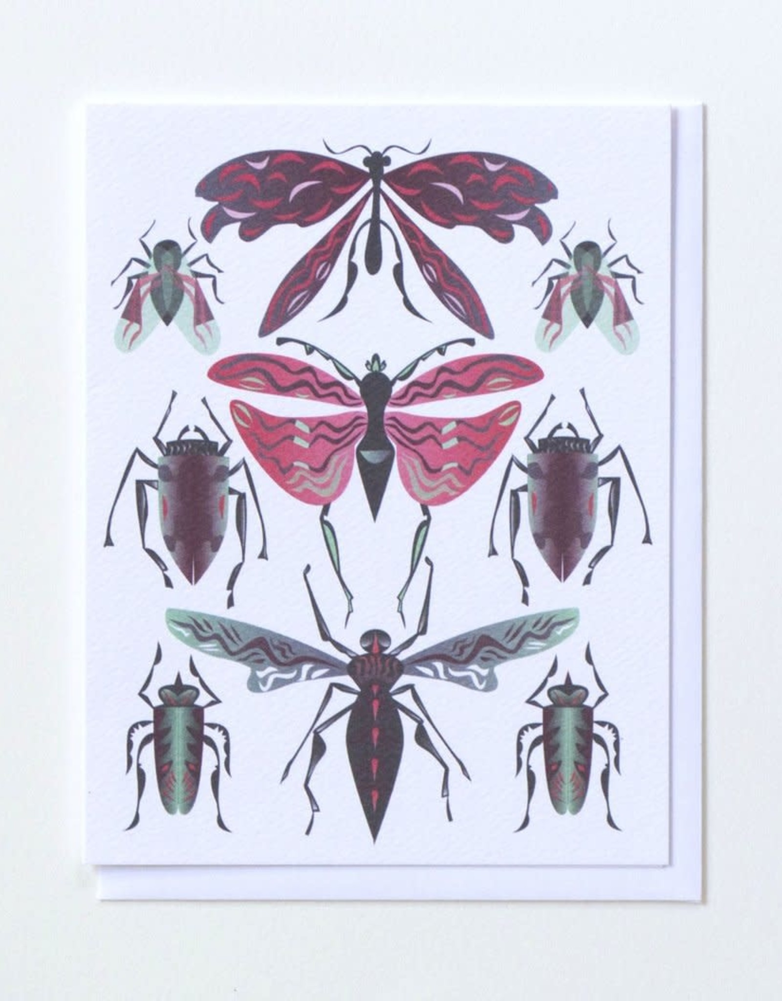 Banquet Atelier & Workshop Insects - Note Card