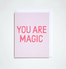 Banquet Atelier & Workshop You Are Magic Note Card