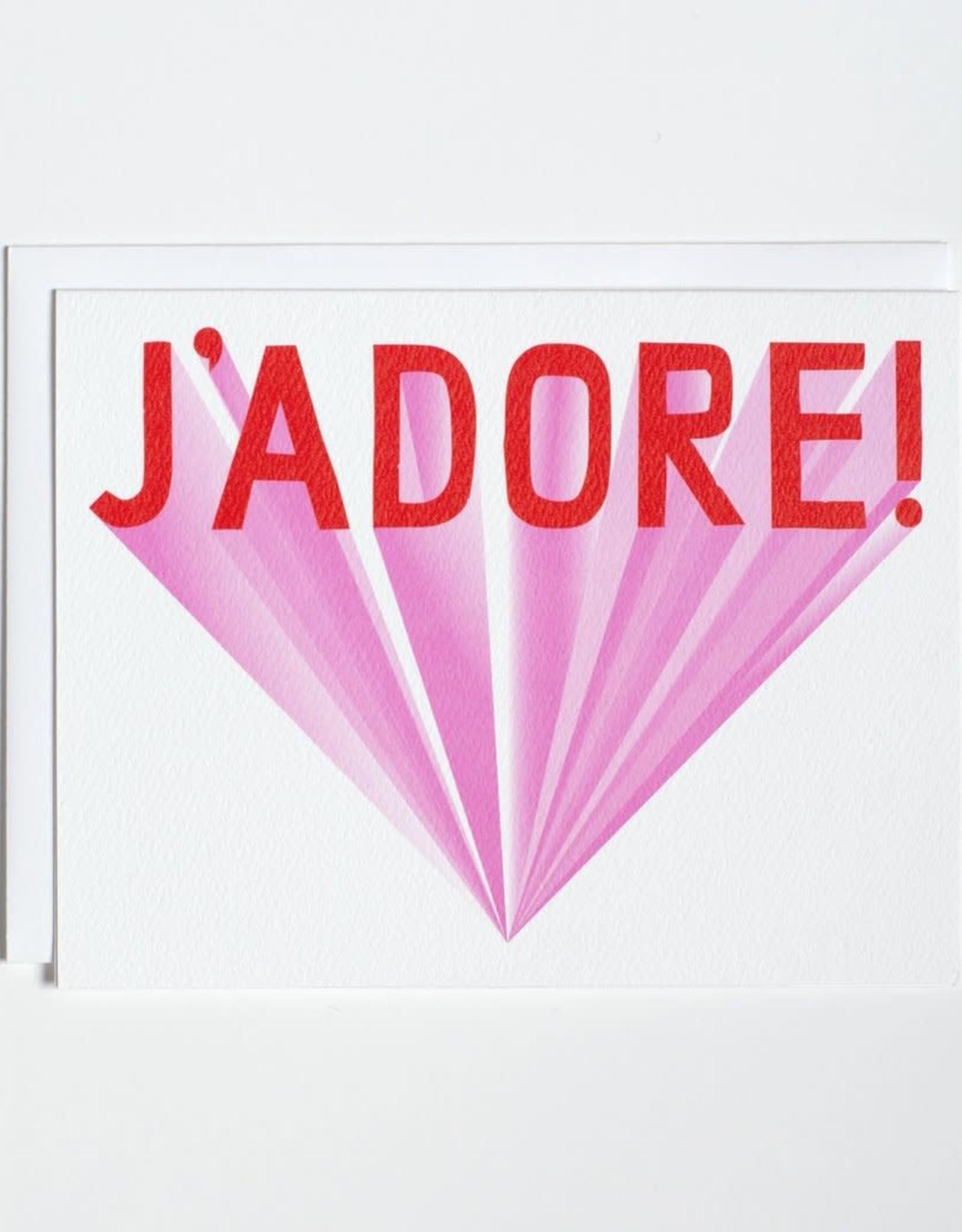 Banquet Atelier & Workshop J'Adore - Note Card