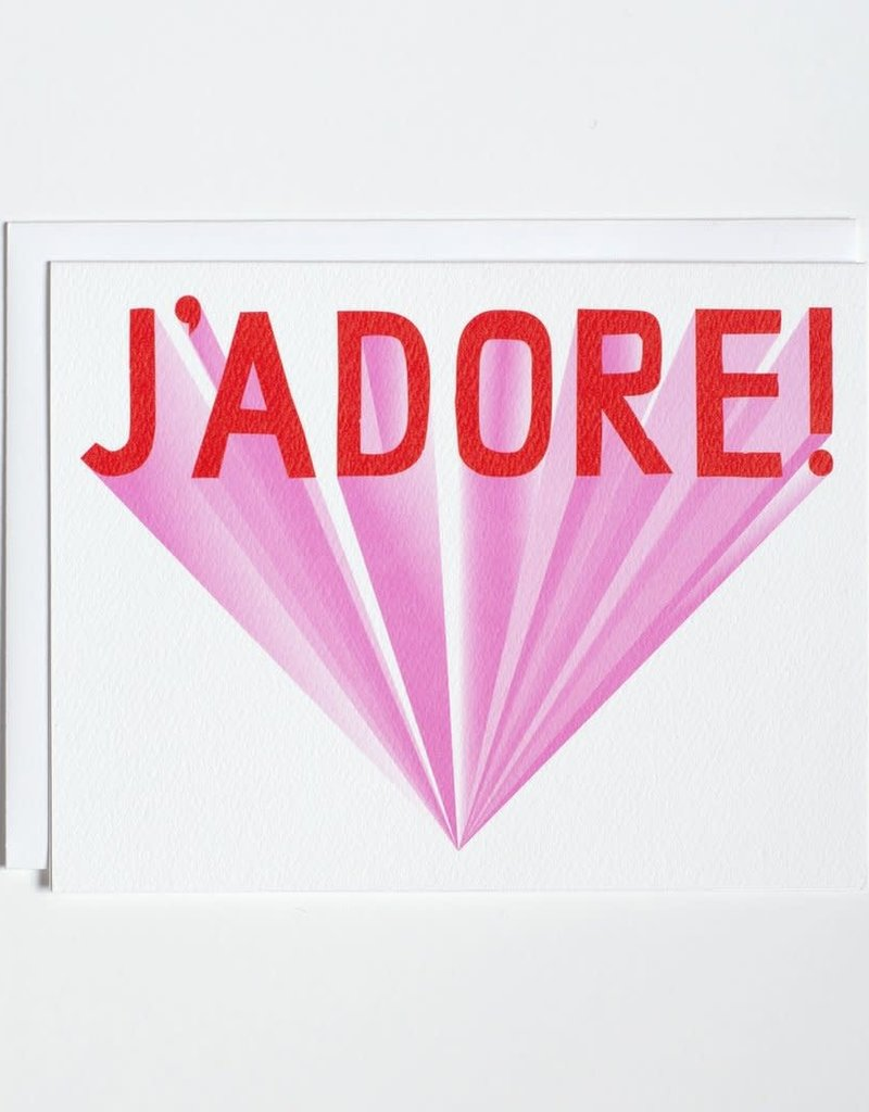 Banquet Atelier & Workshop J'Adore - Note Card