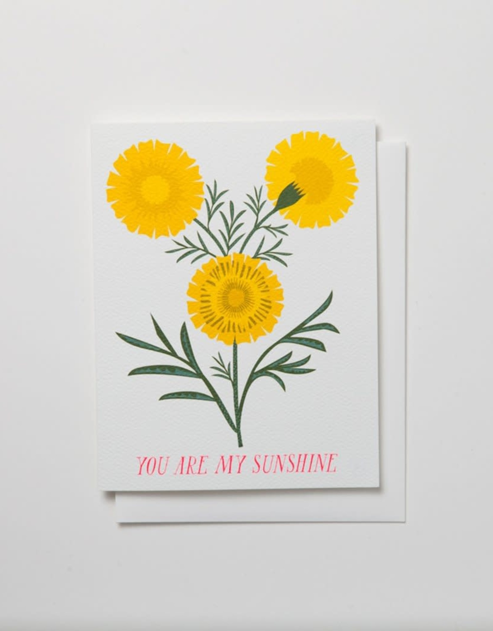 Banquet Atelier & Workshop You Are My Sunshine - Note Card