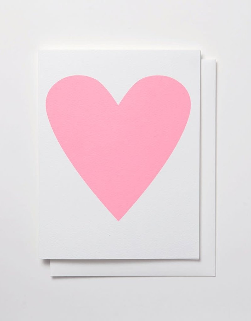 Banquet Atelier & Workshop Pastel Heart - Note Card