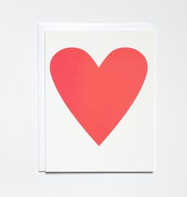 Banquet Atelier & Workshop 'Neon Heart' Note Card