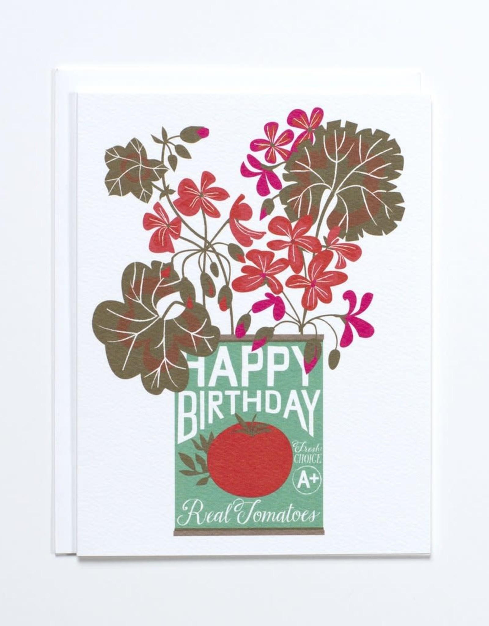 Banquet Atelier & Workshop Tin Can Happy Birthday - Note Card