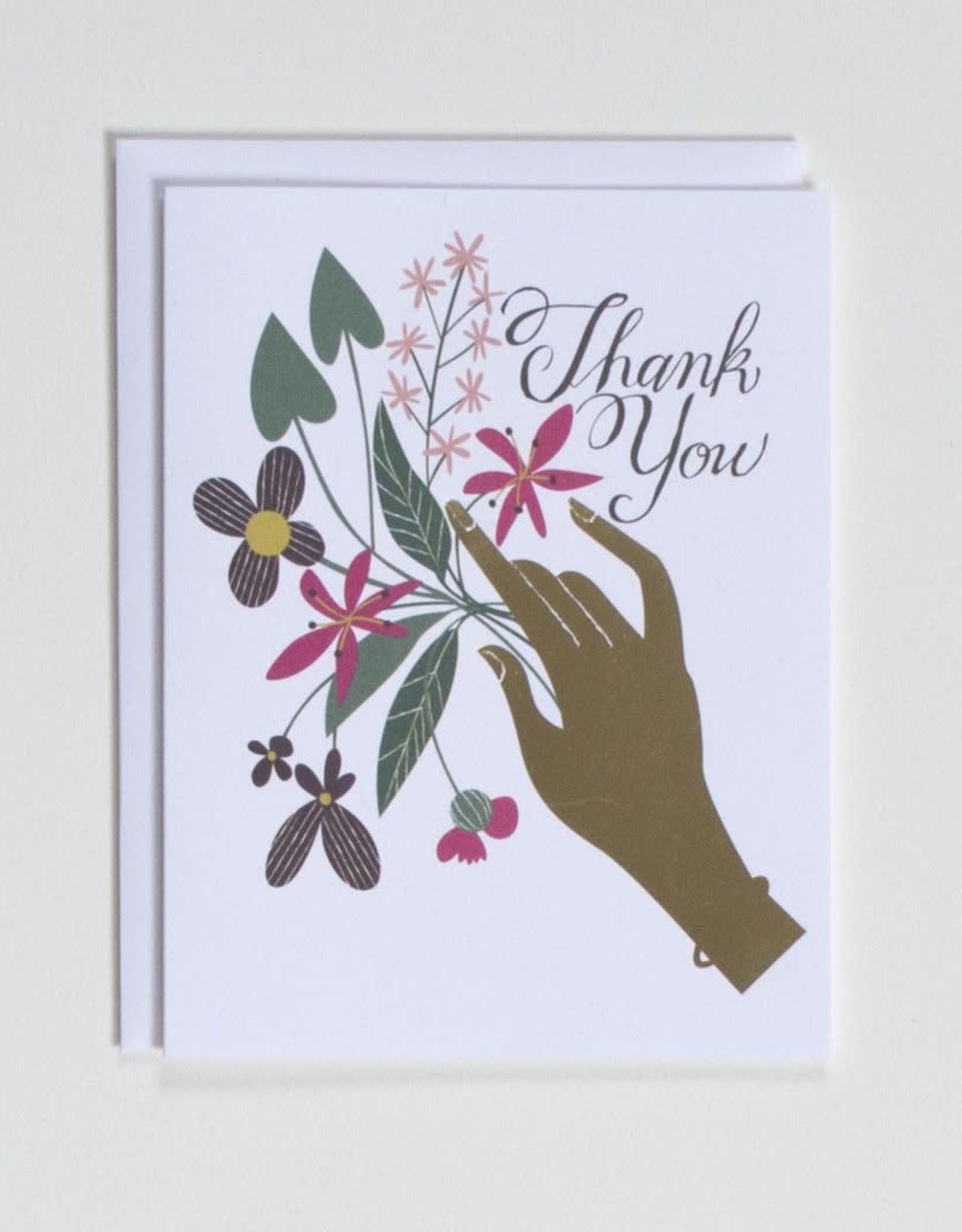 Banquet Atelier & Workshop Gold Foil Thank You - Note Card