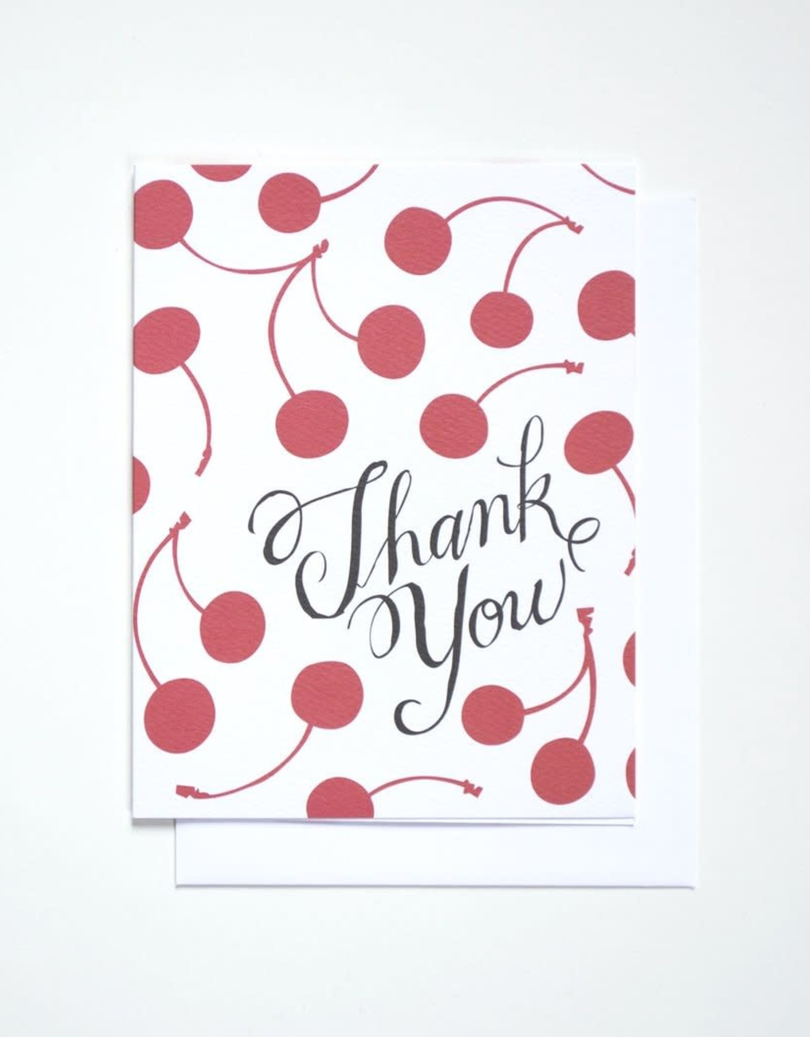 Banquet Atelier & Workshop Thank You Cherries - Note Card