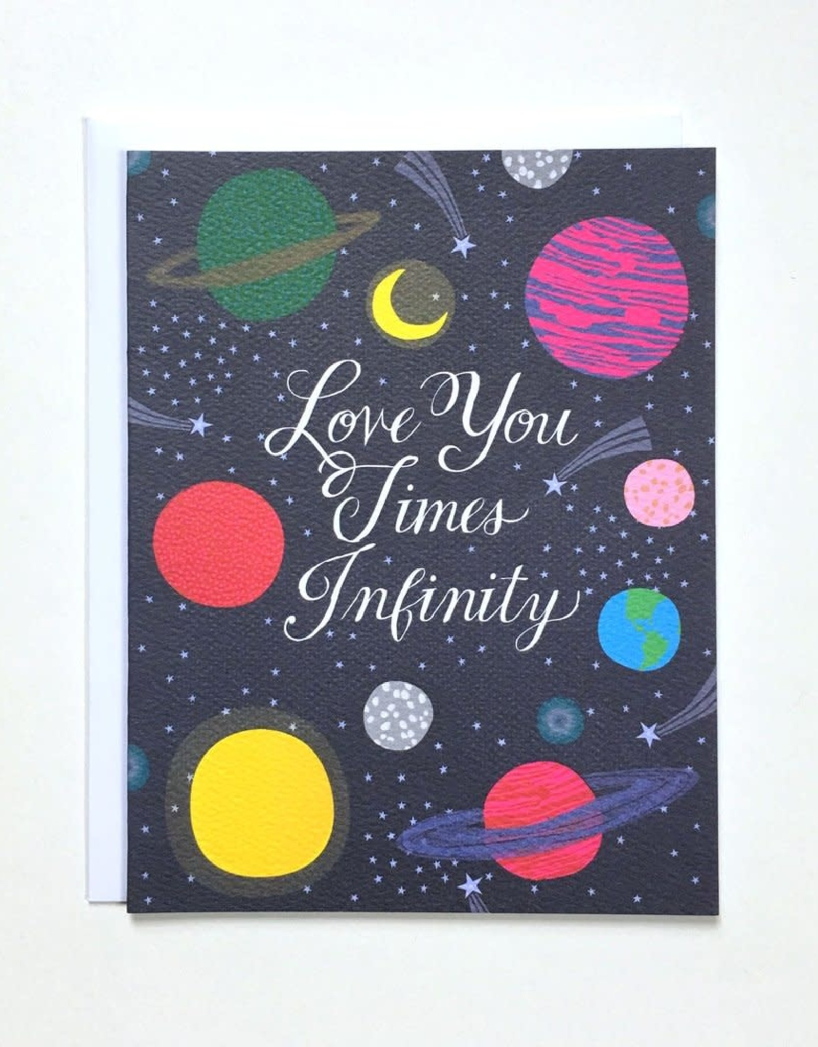 Banquet Atelier & Workshop Love You Times Infinity Note Card