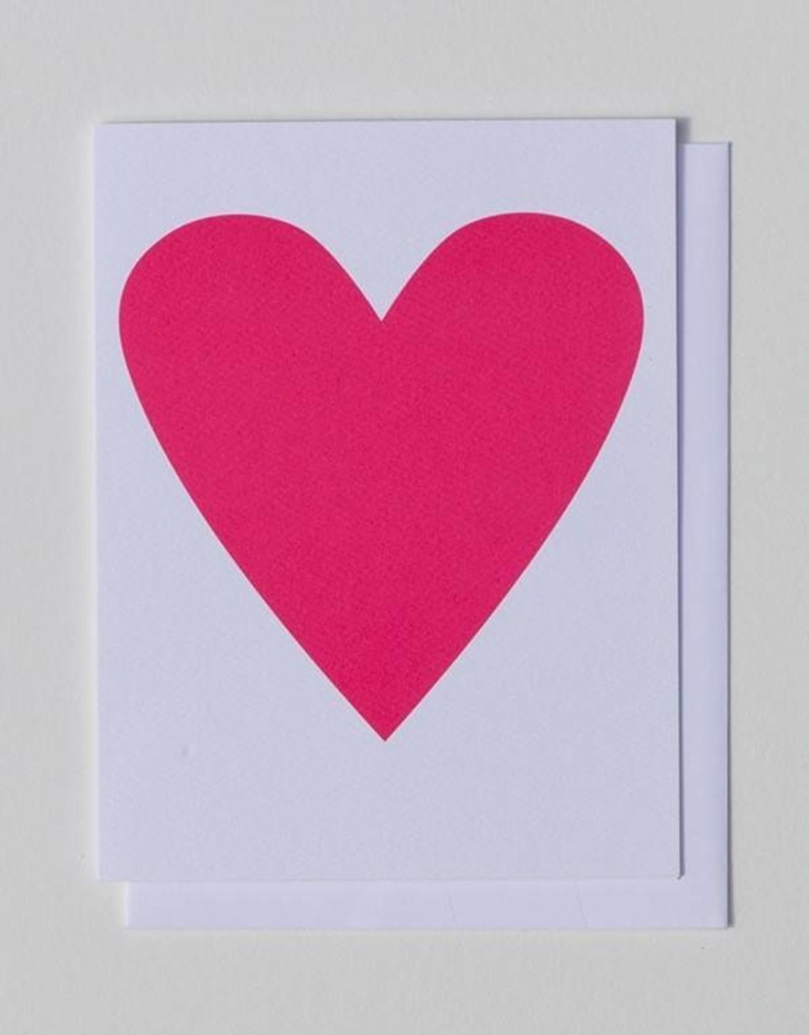 Banquet Atelier & Workshop Neon Heart Note Card