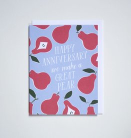 Banquet Atelier & Workshop Happy Anniversary (Pear) - Note Card