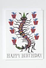 Banquet Atelier & Workshop Centipede Happy Birthday - Note Card