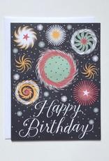 Banquet Atelier & Workshop Birthday Fireworks - Note Card